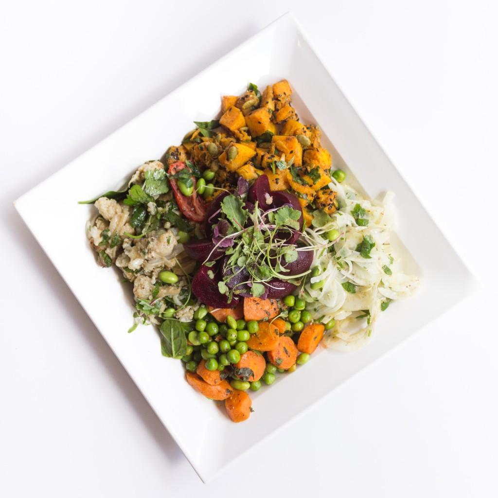 Fresh salad from Nashi